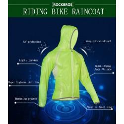 ROCKBROS - Kurtka rowerowa przeciw deszczowa wiatro szczelna RK1001