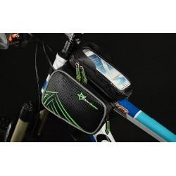 ROCKBROS - Torba na ramę rowerową z kieszenią na telefon ZH009