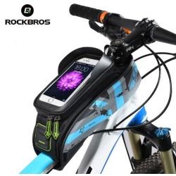 "ROCKBROS - Torba rowerowa na telefon 5.8"" i 6"" montowana na ramie 021"