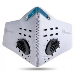 Maska antysmogowa z filtrem węglowym LF024 Biała