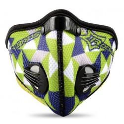 Maska antysmogowa z filtrem węglowym LF019GN