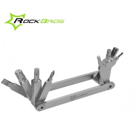 ROCKBROS - Multitool zestaw niezbędnych kluczy rowerowych w scyzoryku MINI RB-GJ8060B