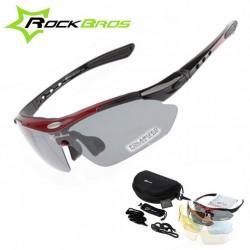 Okulary rowerowe 4 kolory do wyboru w zestawie 5 szkieł
